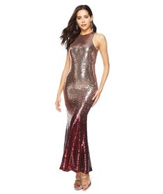 อย่างเป็นทางการ tulle ปิดไหล่ยาวชุดปาร์ตี้เลื่อมผู้หญิงชุดริบบิ้น