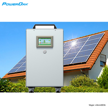 4kwh Lithium Ion Battery Pack 2kw Off Grid Solar Energy Storage System For Home Electricity
