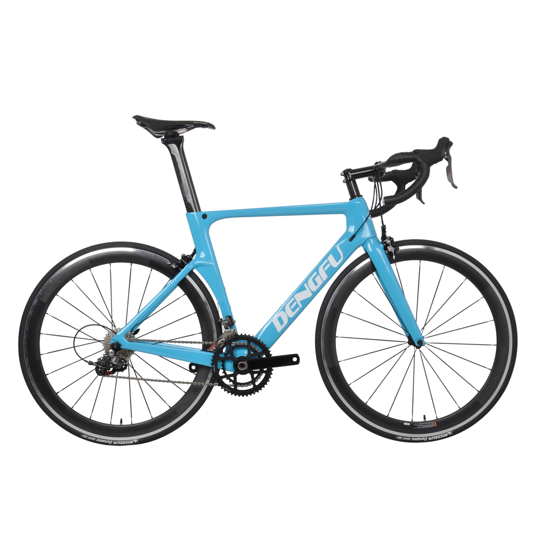 Carbon Fiber Bikes >> Best Selling Aero Racing R06 Frame Carbon Fiber Bikes V Brake Sky Blue Color Complete Carbon Road Bike View Carbon Road Bike Produ Product Details