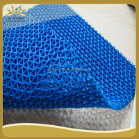 pvc s type anti-slip mat roll for swimming pool, bathroom, shower