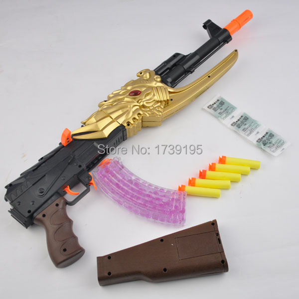 Paintball Gun Pistol & Soft Bullet Gun Plastic Toys CS