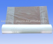 High quality printed perforated plastic garment bag on roll