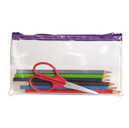 Cheap Transparent PVC Pencil Cases