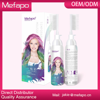 Best Hair Dye Products / Oem Temporary Color Hair Mousse - Buy Best ...