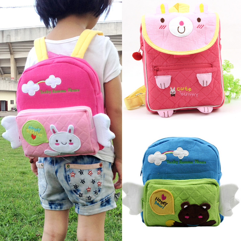 Promotion High-quality A variety of canvas Cartoon Backpack