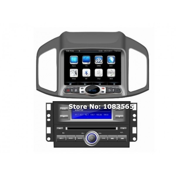 for chevrolet captiva 2013 2014 car radio gps navigation dvd player with map tv bluetooth audio. Black Bedroom Furniture Sets. Home Design Ideas