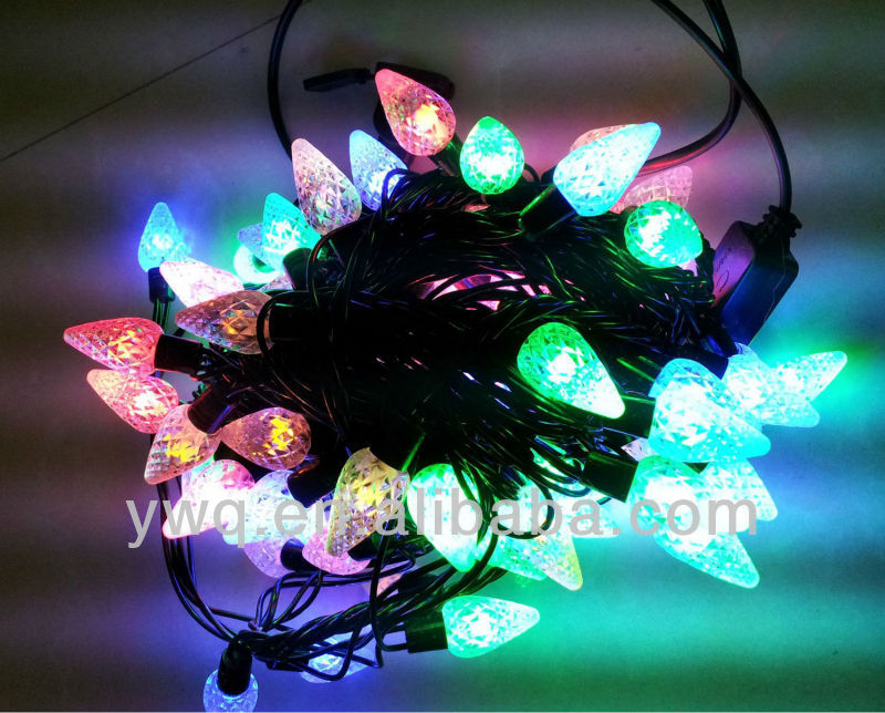 mini light string incandescent light multicolor bulbs 50 bulbs green wire  garden lighting wiring diagram