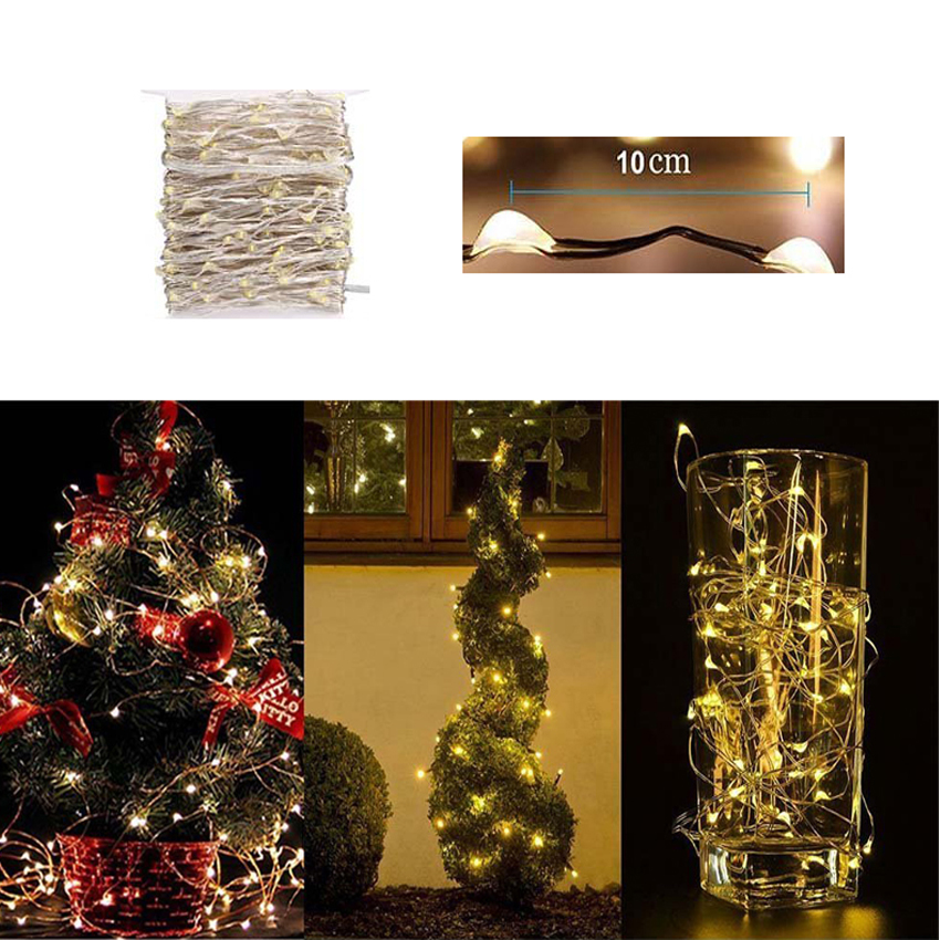 Outdoor 10m 50m 100m LED Fairy String Lights for Christmas