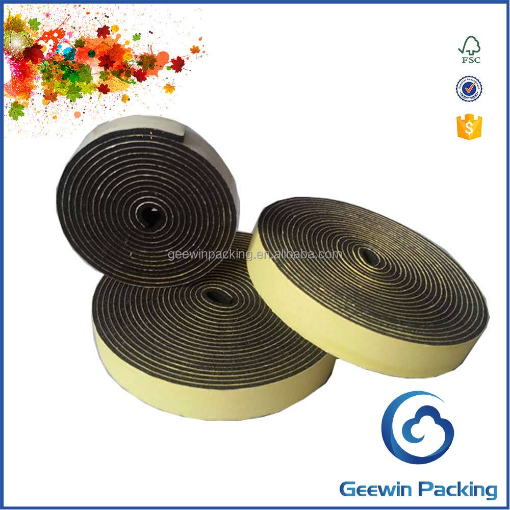 Sponge Neoprene Stripping With Adhesive/ Wide Foam Tape/ Thin Foam Rubber