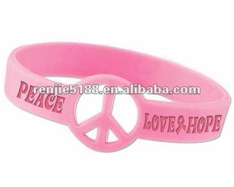 New arrival !Multi-color Silicone Wristband/Bracelets, Customized Logos are Welcome,Available in Various Colors