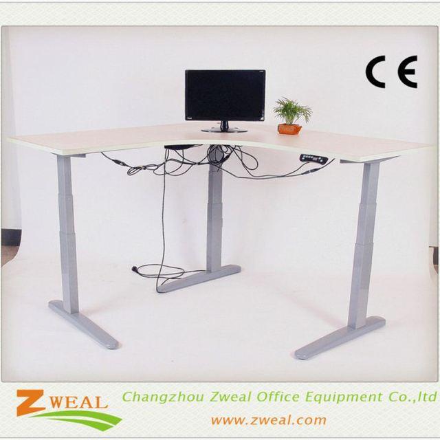 Metal Desk Leg Manufacturers Adjule Over Bed Table Crankdesk Frame