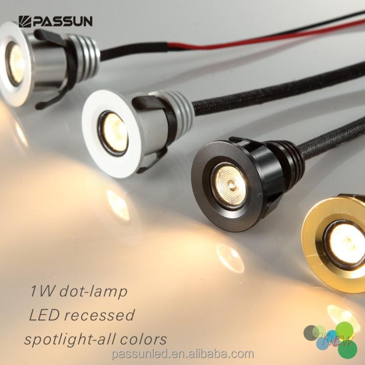 modern ceiling design small led spot light recessed led spot light 1w