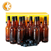 Hot Sale Factory Supply 1L 1000Ml Amber Empty Beer Bottles Plastic Pet Beer Bottles