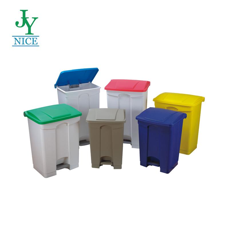 Professional โรงพยาบาลถังขยะพร้อมเหยียบ 8 แกลลอนถังขยะพลาสติกสนามบินสถานีรถไฟโรงเรียน hdpe ถังขยะ