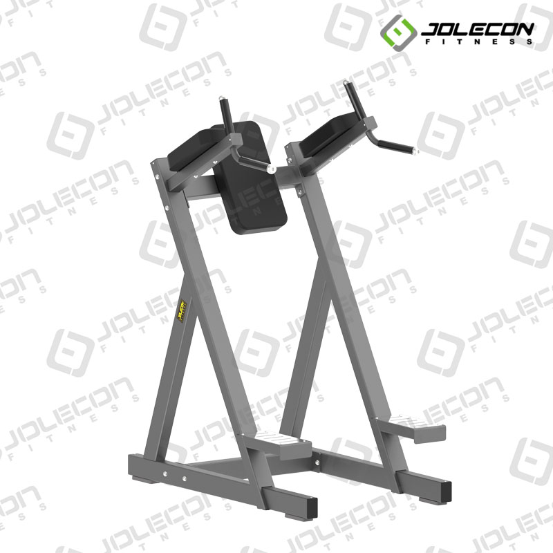 Commercial vertical knee raise machine for gym use JLC-DJ150