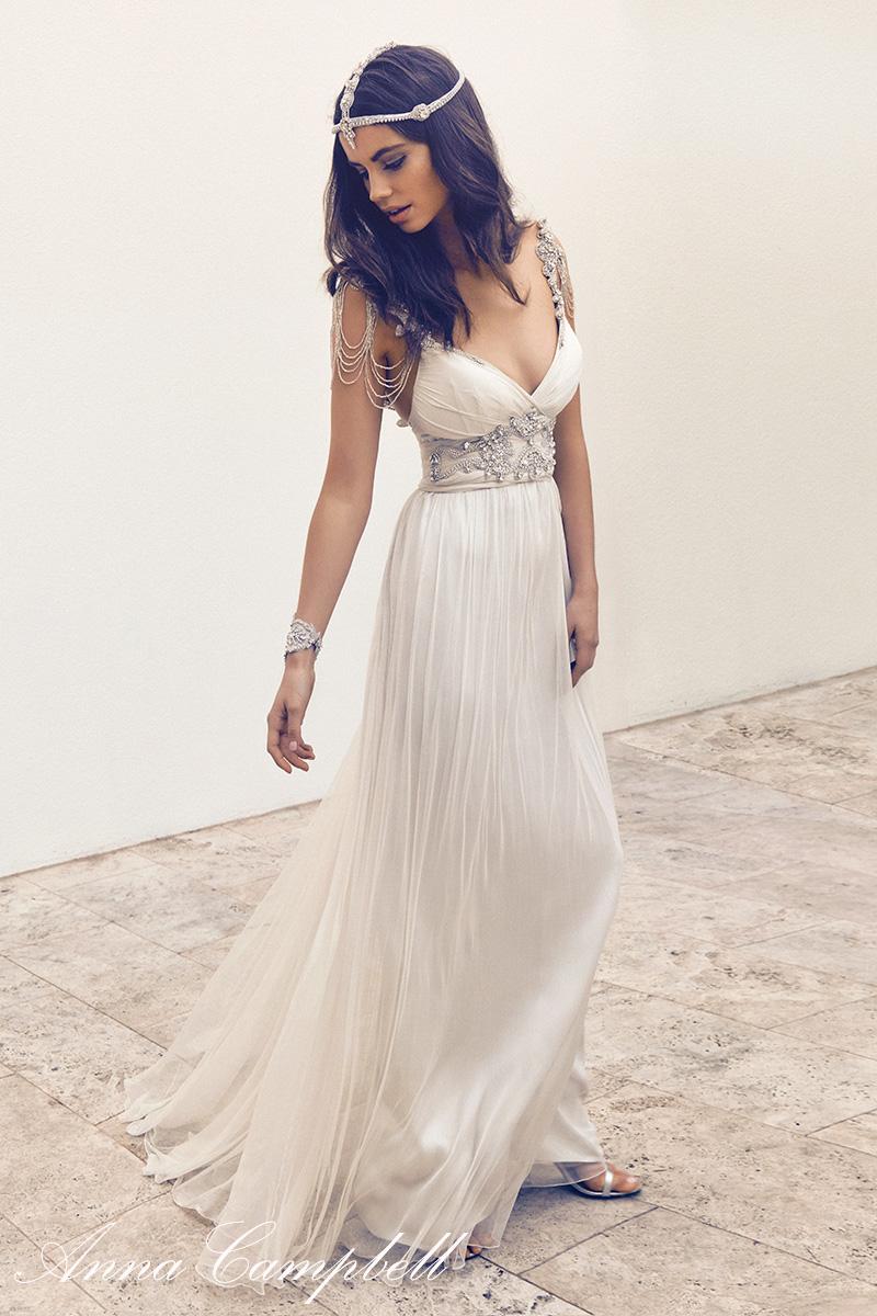 vintage wedding dress 2016 sexy backless v neck boho bride dress bohemian beach wedding dress. Black Bedroom Furniture Sets. Home Design Ideas