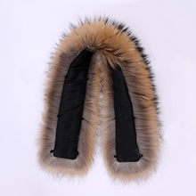 100*18cm large size raccoon fur collar