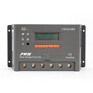 EPsolar ViewStar VS4524BN PWM Solar Battery Charge Controller Regulator 45A