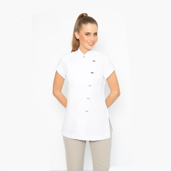 Custom wholesale spa uniforms tops for women buy for Spa uniform photos
