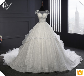 Real photo wedding gown plus size wedding dress 2017 long train ball real photo wedding gown plus size wedding dress 2017 long train ball gown muslim wedding dresses junglespirit Images