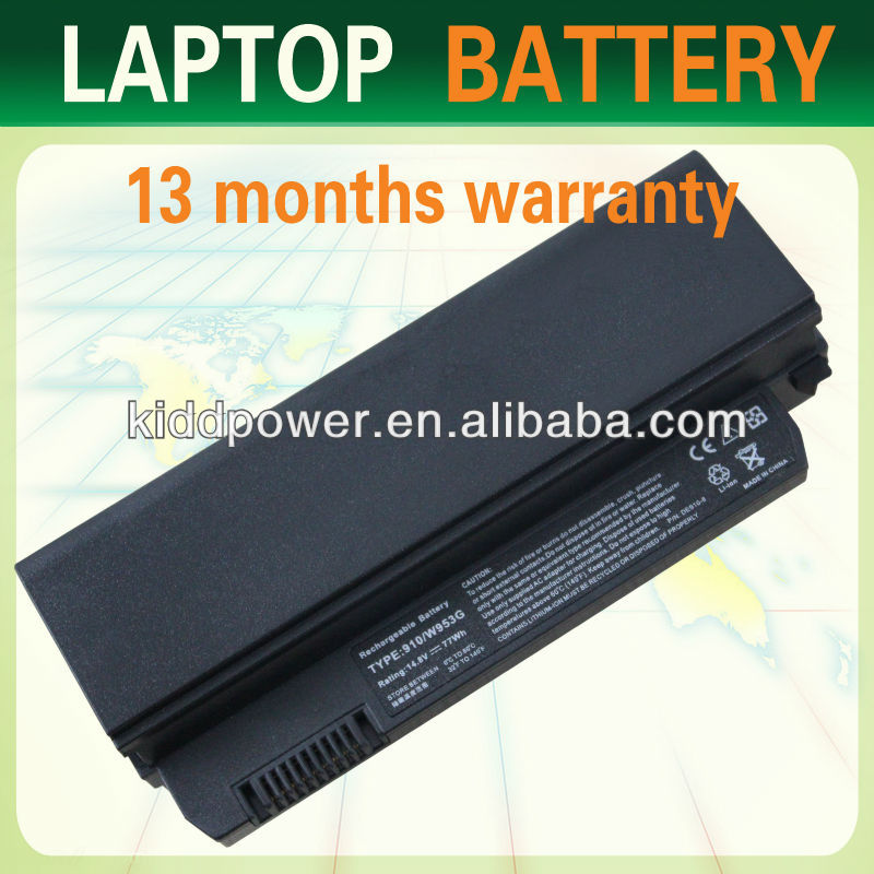 "2014 HK Fair! 8-Cell Notebook Battery for Dell Inspiron 910 Inspiron Mini 8.9"" 9 9N Vostro A90"