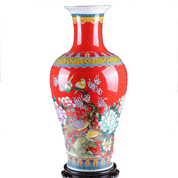 Ws Unique Antique Big Red Ceramic Tall Floor Vases Buy Ceramic