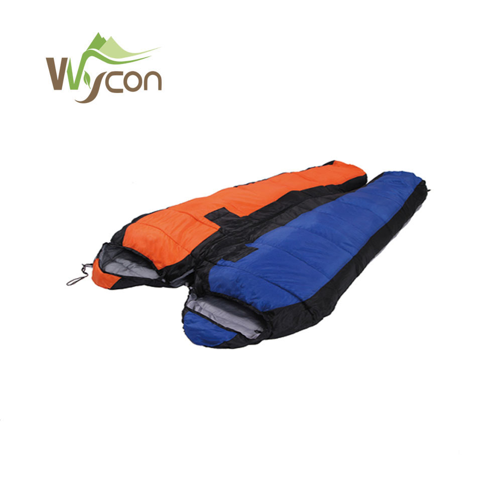 Useful Autumn And Winter Outdoor Single Stitching Sleeping Bag Ultra Light Thick At6102 Comfortable And Easy To Wear Sleeping Bags