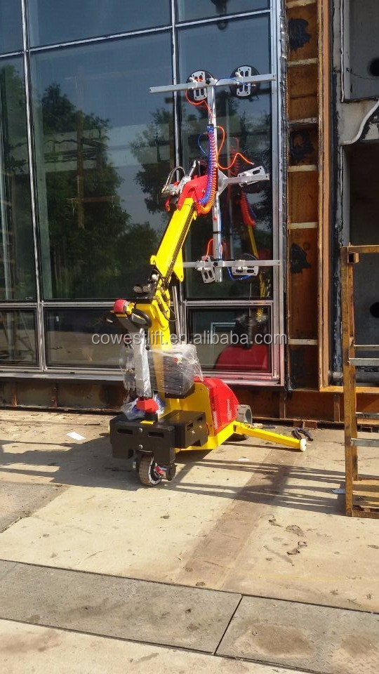 glass vacuum lifter, glass installation robot in 2018 design