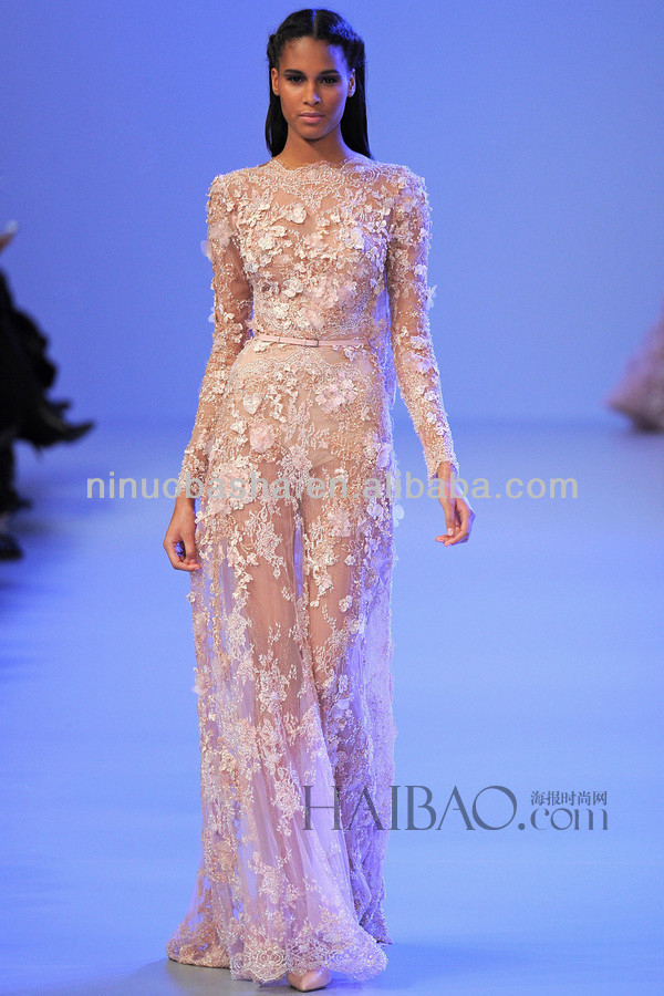 See Through Wedding Dresses.Spring 2014 Sexy See Through Wedding Gown Jewel Neck Long Sleeve Full Length Lace Applique Sheath Bridal Gown Nb041 Buy Long Sleeve Lace Modest