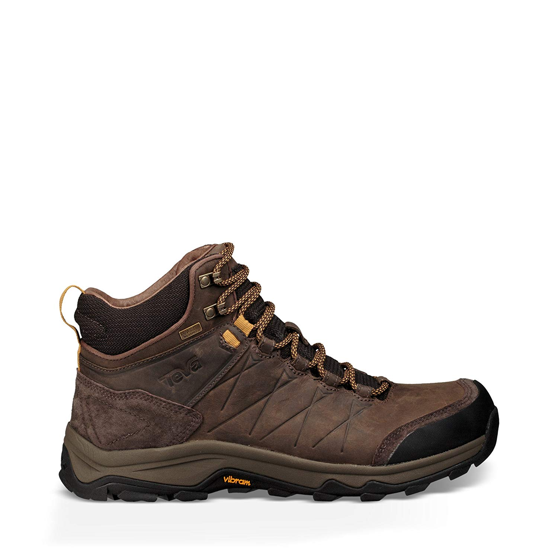 e5b0a29980e1 Get Quotations · Teva M Arrowood Riva Mid WP Turkish Coffee Mens Hiking  Boots Size 8M