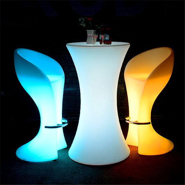 Hot sale waterproof high quality led table led chairs modern lighting furniture for <strong>bar</strong>