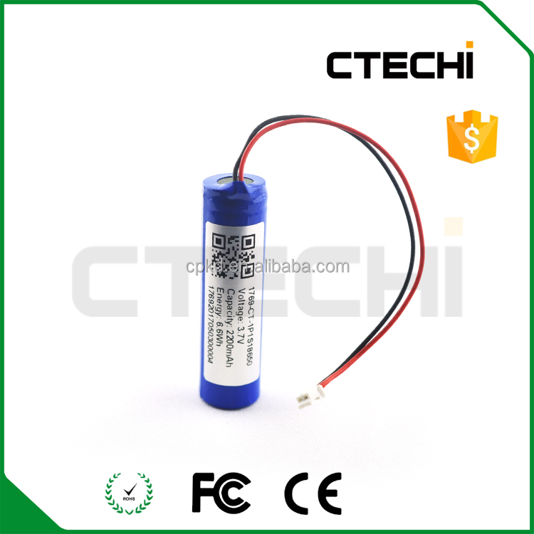 PCM protected li ion 18650 battery pack LED lights