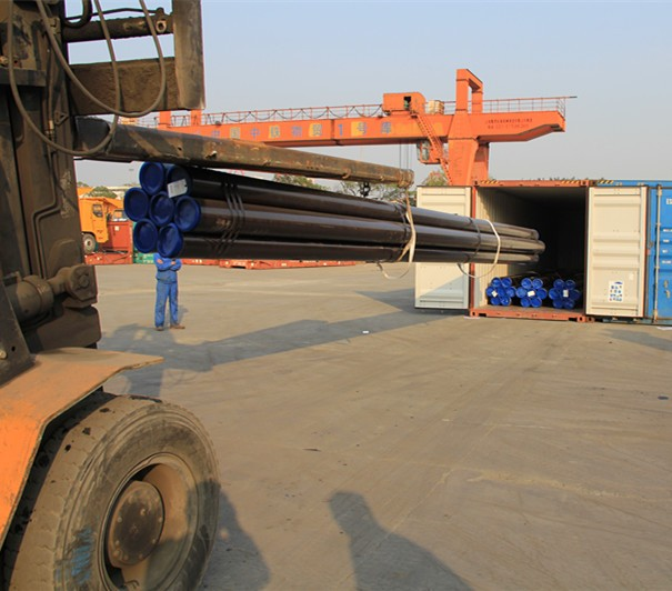 Hot rolled seamless steel pipes building materials seamless pipe