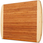 Wood Board Thick Bamboo Wood Cutting Board With Juice Grooves