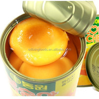 Foreign tourists favorite canned peaches