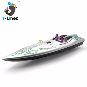 Plastic electric toy rc boat model for sale