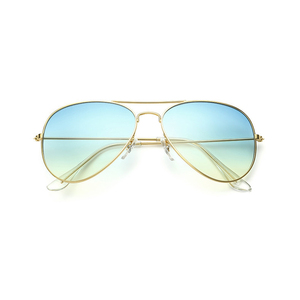 Classic gradient sunglasses men and women retro sea color lens gradient sunglasses