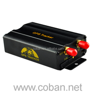 Best quality vehicle tracking system locate phone number gps Tk103A car tracker With ACC anti-theft alarm