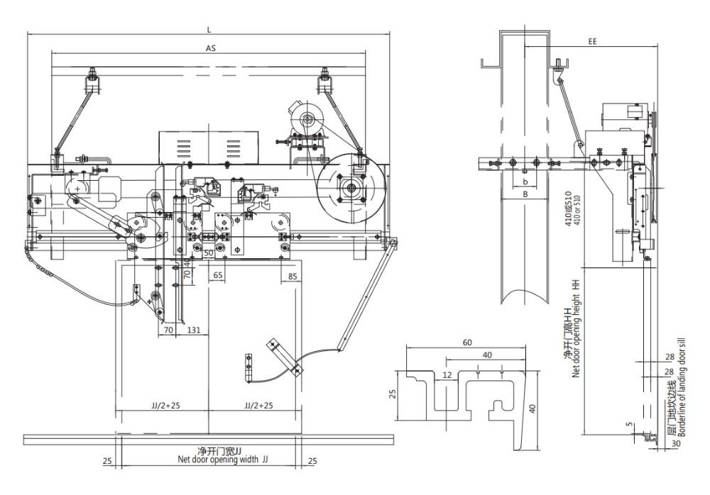 Porte Coulissante Machine/automatique Porte Mécanisme Du0027ouverture