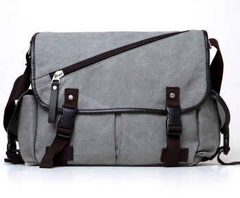 27df922c5d 600D polyester promotional college student messenger canvas shoulder bag  for men