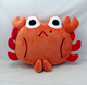 Cartoon Cushion Crab Shape Children Toy Cushion Pillow