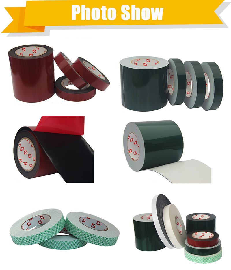 Super Good Quality Strong Adhesion 3mm Single sided XPE Foam Tape