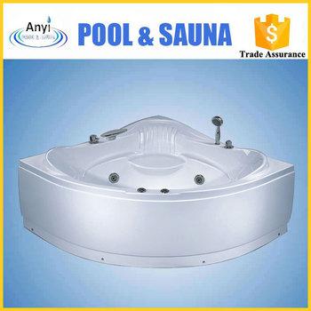 2 person indoor hot tub massage double whirlpool bath tub for Indoor bathroom hot tubs