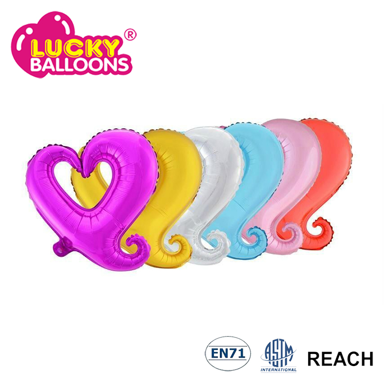 China balloons party decoration decorations wedding heart star round shape foil balloons helium