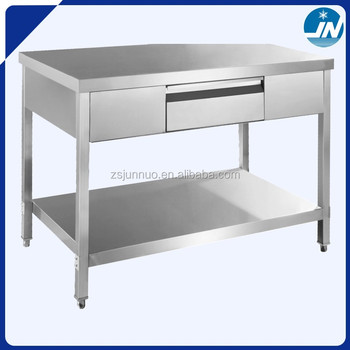 Assembling Stainless Steel Work Table Drawers Jgt Buy - Stainless steel work table with drawers