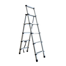 Professionele multi purpose uitbreiding 10 m telescopische aluminium step <span class=keywords><strong>ladder</strong></span>