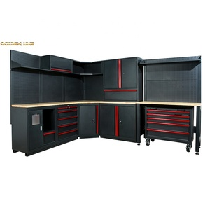 2019 new design combination tool cabinet household workbench tool cabinet sets