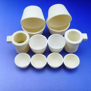 Melting al2o3 alumina crucible ceramics