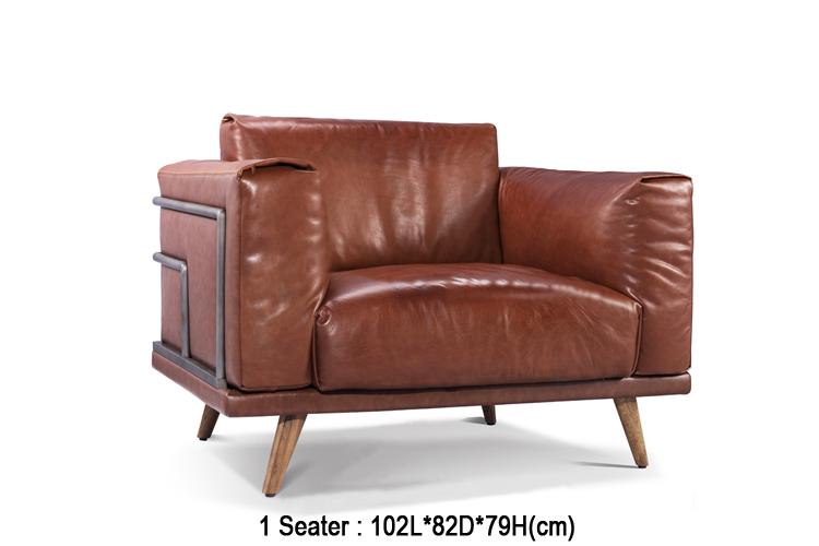 Brilliant Retro Vintage Sofa Set Leather Sofa For Living Room Furniture Made In Foshan China Wiht Iron Frame Buy Retro Vintage Sofa Iron Frame Sofa Lamtechconsult Wood Chair Design Ideas Lamtechconsultcom