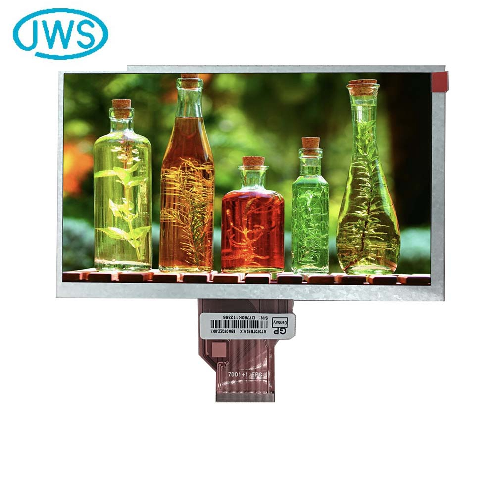 Mass supply durable tft dislay 7 inch lcd monitor with av input